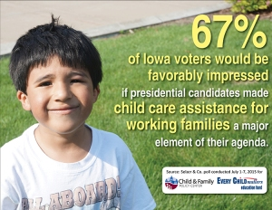 4C. Sm Poll findings -- favorable child care assistance